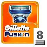 Gillette Turbo Ersatzklingen für Rasierer, für Herren, 8 Stück