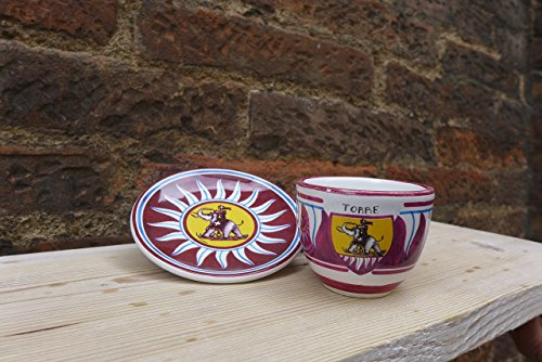 Coffee Set of the Contrade Palio of Siena