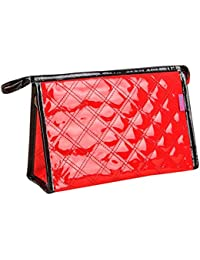 Hatop Hand Bag Travel Bag Cosmetic Bag Travel Bags Makeup Bag (Red)