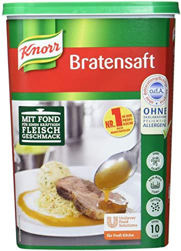 Knorr Bratensaft Trockenmischung (authentischer Fleischgeschmack) 1er Pack (1 x 1kg) -