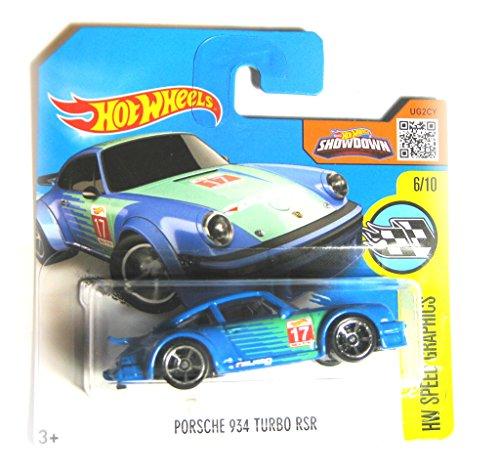 Hot Wheels Porsche 934 Turbo RSR blau 6/10 1:64