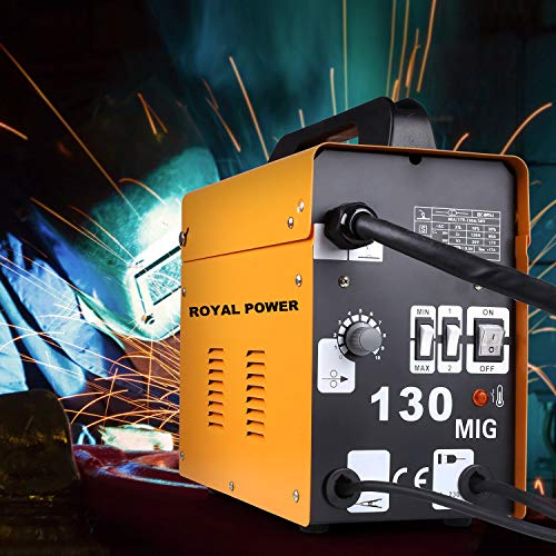MIG 130 Poste à souder à fil continu sans gaz MIG 130 A 230V ROYAL POWER