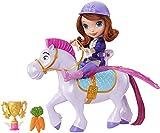Mattel CKH35 Disney Princess - Fliegende Prinzessin Sofia und Minimus Puppe
