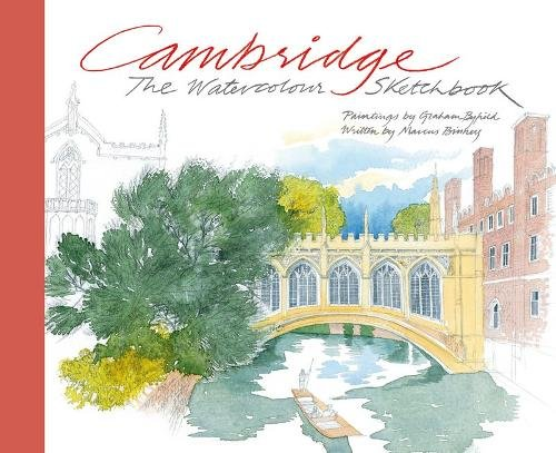 Cambridge: The Watercolour Sketchbook por Marcus Binney