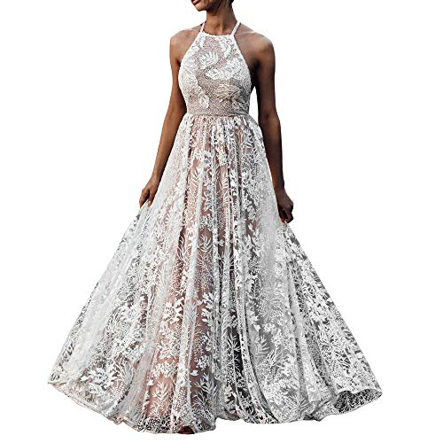 e12046b48021 Vestito Pizzo Donna Elegante Mode Irregolare Bodycon Abito Senza Spalline da  Sera Vestiti Sirena Cerimonia Abiti