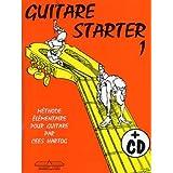 Guitar Starter Vol. 1 - Livre + CD - HARTOG Cees