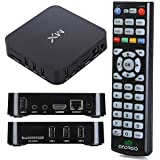 Android TV Box Media Player - Dual Core Smart Internet 1080p HD WiFi Player Running Android 4.2.2 with XBMC for Streaming Football, Sports, Movies & TV Shows
