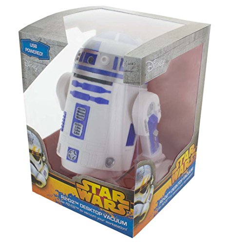 Star Wars R2-D2 Desktop Vacuum, Multi-Colour