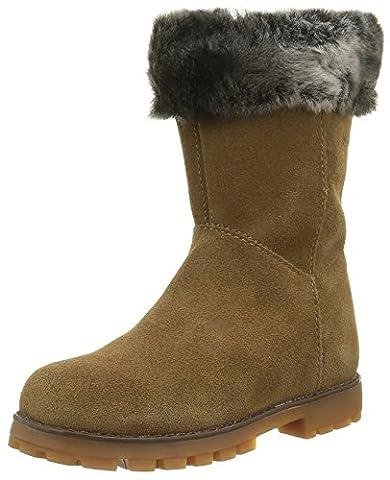 Camper Mädchen Compas Kids Chukka Boots, Braun (Medium Brown 001),