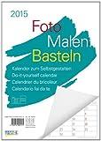 Foto-Malen-Basteln weiß Notice 2015: Kalender zum Selbstgestalten