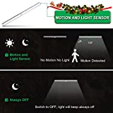 from LOFTer Motion Sensor Light, LOFTer Rechargeable Wireless 3M Magnetic Stick-on Anywhere Battery Powered PIR Motion Activated Cabinet Wardrobe Cupboard Kitchen Counter Drawer Night Lighting(2 Ways to Install) Model LTLED-031