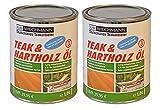 Kai Wiechmann Original Teak & Hartholzöl, sehr ergiebig, 2 Liter, 2000 ml
