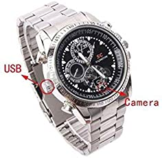 Labdhi Creation 16 GB HD Mattel Chain Wrist Watch Spy Cam Watch Secrete Hidden Spy Product(4gb stroage)