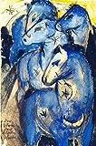 Kunstdruck/Poster: Franz Marc Turm blauer Pferde - hochwertiger Druck, Bild, Kunstposter, 40x60 cm