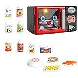 MagiDeal Mini Kinder Küchen- und Haushaltsgeräte Spielzeug für Kinderküche Hauswirtschaft Rollenspiel - Mikrowelle