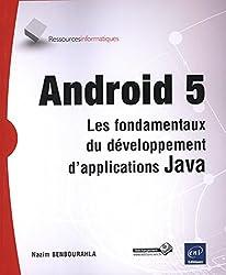 Android 5 - Les fondamentaux du développement d'applications Java