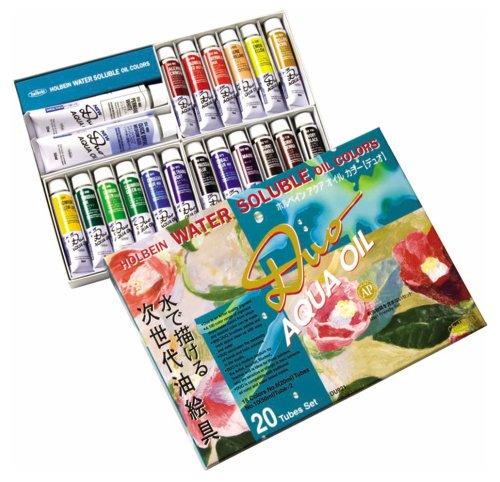 Duo Aqua Oil Color (Holbein Aqua Oil Color DUO 20 color set (japan import))