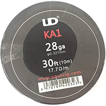 -0.40/mm 50/Meter Spule 11.31/Ohm//m 26AWG / Kanthal A1/Typ Widerstand Draht/