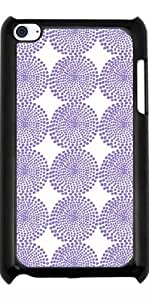 Hülle für Ipod Touch 4 - Lila Funkeln Dots