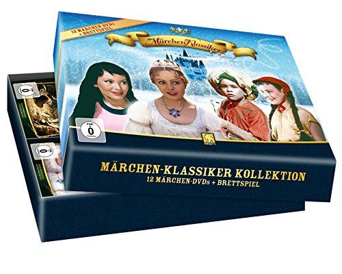 Märchen-Klassiker-Kollektion (12 DVD + Brettspiel) – limitierte Auflage!!