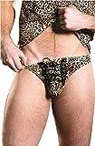 Sexy String léopard pour homme M001