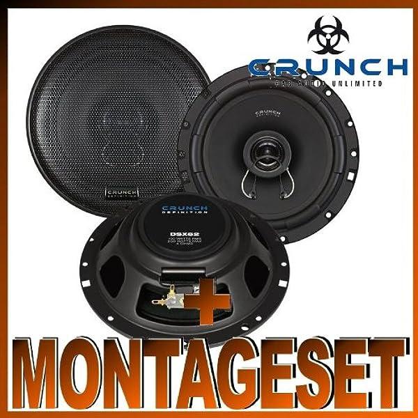 Crunch Dsx 62 Lautsprecher Für Vw New Beetle Bj Elektronik