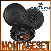 // hinten : T/üren Hifonics Auto Lautsprecher 2 Wege Koax 360 Watt Audi A4 B5 8D bis 10//00 Einbauort vorne :