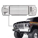 INJORA TRX4 82046-4 Grille d'entrée en métal pour 1/10 RC Crawler TRAXXAS TRX4 Ford Bronco Ranger XLT