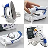 Divinext Travel Folding Handel Portable Powerful Mini Electrical Steam Iron Press,White