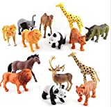 Best Animals - Funny Teddy 12 pc Wild Animal Toy Set Review