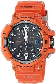Casio G-Shock for Men - Analog-Digital Resin Band Watch - GW-A1100R-4A