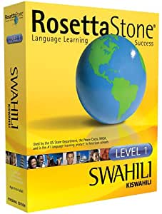 Rosetta Stone Level 1 Swahili (PC/Mac)