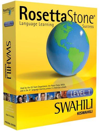 Rosetta Stone Level 1 Swahili (PC/Mac) [Import] (Rosetta Stone Pc)