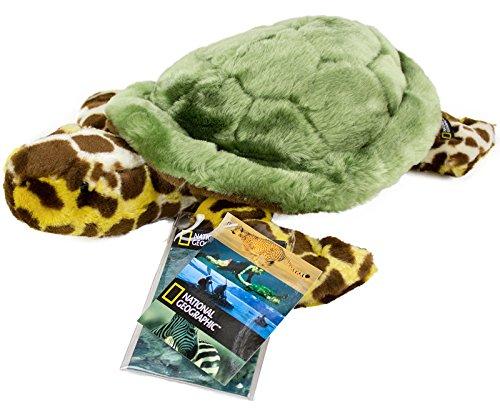 National Geographic–Plüschtier Schildkröte 40cm Schildkröte Stofftier
