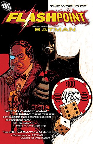 Flashpoint World Of Flashpoint Batman TP (Batman (DC Comics)) by J. T. Krul (29-Mar-2012) Paperback
