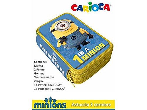 Minions astuccio 3 zip mc0272