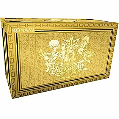 "Yu-Gi-Oh! YGO-LD2-EN ""Legendary Decks II"" Box Set"