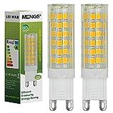 MENGS® 2 Stück G9 LED Lampe 7W AC 220-240V Warmweiß 3500K 75x2835 SMD Mit ACRYLIC und Keramik Mantel