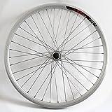 """26 Zoll Hinterrad-Felge Laufrad 26"""" Aluminium Hohlkammer-Felge Silber Alu Fahrrad-Felge Tourenrad Cityrad"""