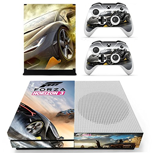 xbox-one-s-slim-skin-covers-sticker-forza-horizon-3-vinyl-decal-for-console-2-controllers-brand-new