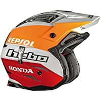 HEBO Trial Zone 4 Montesa Team II Casco, Blanco, Talla XS