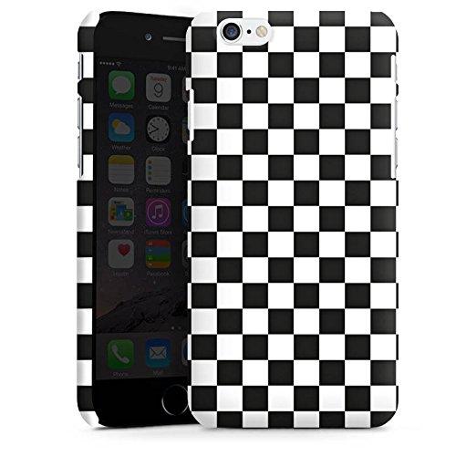 Apple iPhone 5 Housse Outdoor Étui militaire Coque Jeu d'échec Ska Carré Cas Premium mat