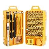 TAI HE Screwdriver Set,110 in 1 Precision Screwdriver Repair Tool Kit Magnetic Professional