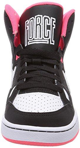 Nike Son Of Force Mid, Baskets mode fille Noir (White/White)