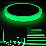 brillent dans le noir Bande, 3 m X 0,3 en phosphorescents lumineux d'urgence/luminescent Photoluminescent Rouleau de sécurité Egress
