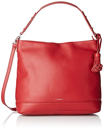 Le Tanneur Capricieuse, Borsa a tracolla donna , Rosso (Rouge (R2)), Taille Unique