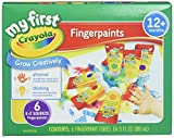 Best Crayola Mestieri per i bambini - Crayola 54 – 0125 18 count Assorted Colors washable kid' S Paint Review
