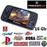 Bittboy PocketGo v2 / PlayGo Noir + 16 Gb MicroSD + RogueFW Update...