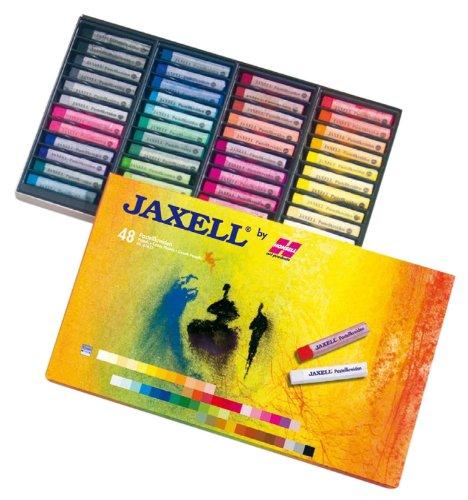 Preisvergleich Produktbild Jaxell 47652 - Pastellkreiden, eckige Form, 48-er Pack