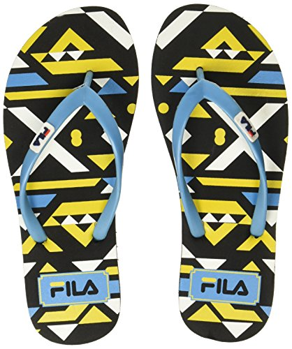 Fila Women's Edda Flip Blk and Blu Slippers - 4 UK/India (38 EU)(11004911)  available at amazon for Rs.224